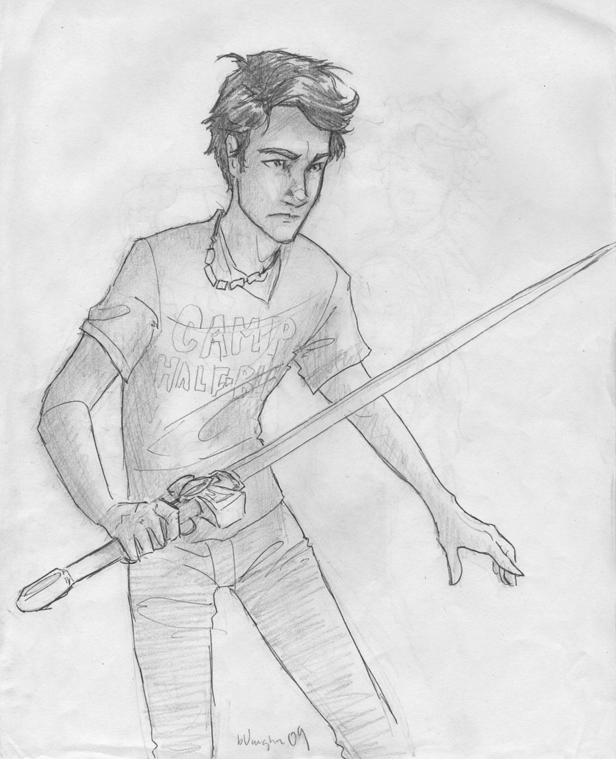 Images of Ares Drawing Percy Jackson - #rock-cafe